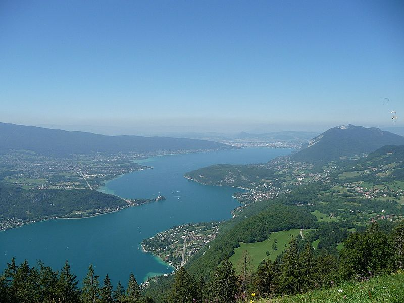 Lac d'Annecy (c) pixabay, haraldflach
