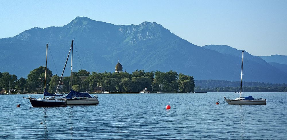 Chiemsee, Fraueninsel (c) pixabay, Atranias